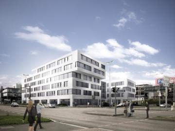"""Bürofläche am Tor zur Welt – """"Airport City Stuttgart"""", 70629 Stuttgart, Bürohaus"""